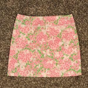 Lilly Pulitzer Skirt in Pink Gossip